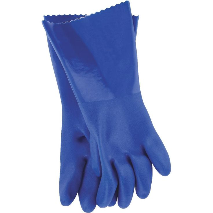 Working Hands Med Pvc Cleaning Glove