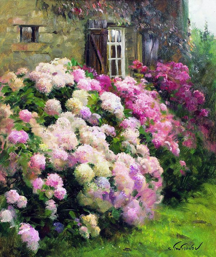 Flower Garden Paintings 1941 best floral and garden inspirations images on pinterest