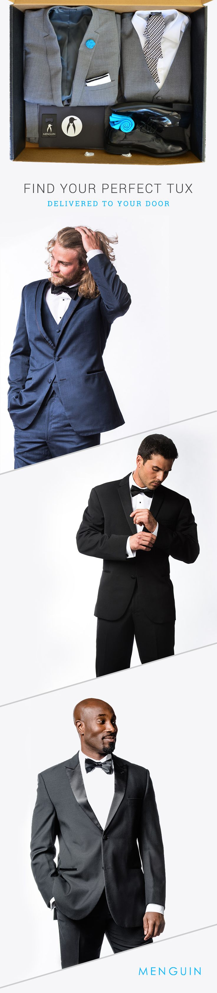 Affordable Tuxedo Rentals Delivered To Your Door | menguin.com