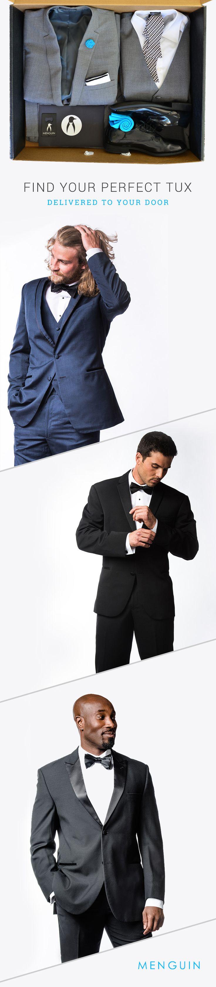 Affordable Tuxedo Rentals Delivered To Your Door | menguin.com