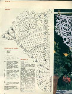 430 besten h keln gardinen crochet curtain bilder auf - Art deco gardinen ...
