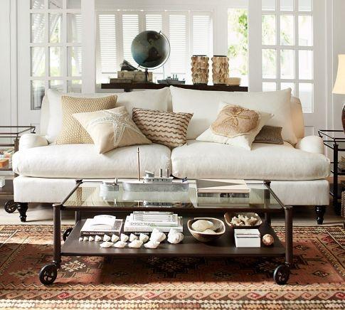 172 best pottery barn images on pinterest. Black Bedroom Furniture Sets. Home Design Ideas