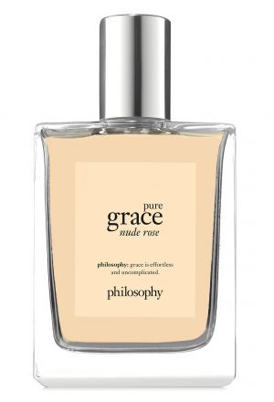 Pure Grace Nude Rose Philosophy for women (2017)...  Pure Grace Nude Rose by Philosophy is a Floral Woody Musk fragrance for women. Top notes are dew drop and green notes; middle notes are rose petals, neroli and orange blossom; base notes are cedar and musk. Perfume rating: 5.00 out of 5 with 1 votes. WANT!!!