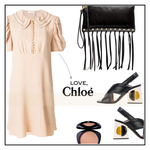 """""""chloé dress for a trip"""" by ceci4diplomazy on Polyvore featuring Chloé, HOBO, Marni, girlstrip and WineTastingOutfit"""