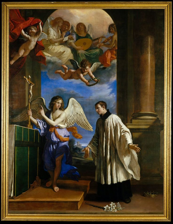 Vocation of St. Aloysius Gonzaga - Guercino