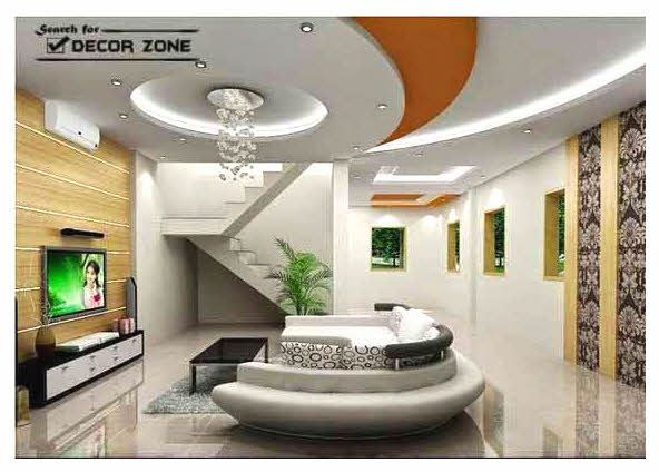 POP False Ceiling Design For Living Room Part 48