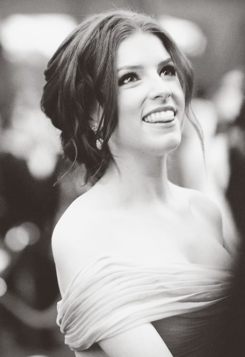 I kind of have developed a serious girl crush on her. She's so funny & cute. And not perfect which makes Anna Kendrick well perfect!