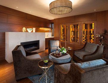 Boulder Contemporary - midcentury - family room - denver - 186 Lighting Design Group - Gregg Mackell