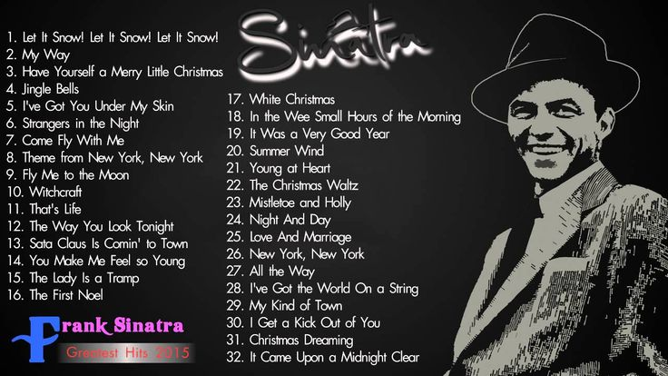 The Best Of Frank Sinatra Songs - Frank Sinatra Greatest Hits