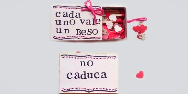 10 Hermosas maneras de regalar un beso este San Valentín
