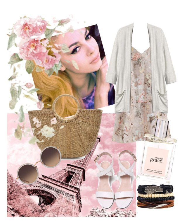 """""""Franch beauty"""" by tanya-dayal on Polyvore featuring Zimmermann, Gap, philosophy and Linda Farrow"""