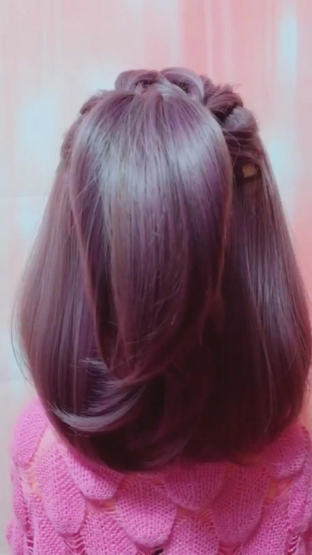 Hairstyle Videos Siguenos En Nuestro Canal De Arte En Youtube Www Youtube Com Yourarttimes In 2020 Hair Upstyles Hair Tutorial Hair Braid Videos
