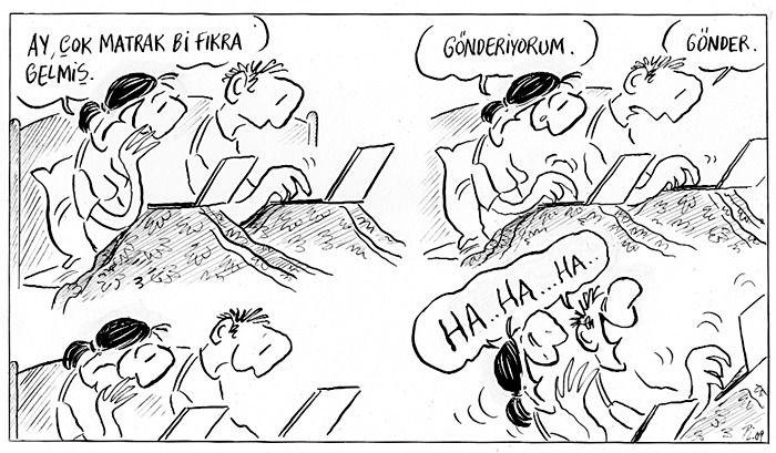 Piyale Madra; Bir yastıkta kocamak!