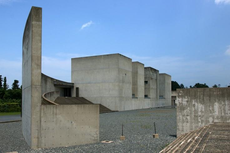 Nagi Museum of Contemporary Art by Japanese architect Arata Isozaki | Okayama, Japan