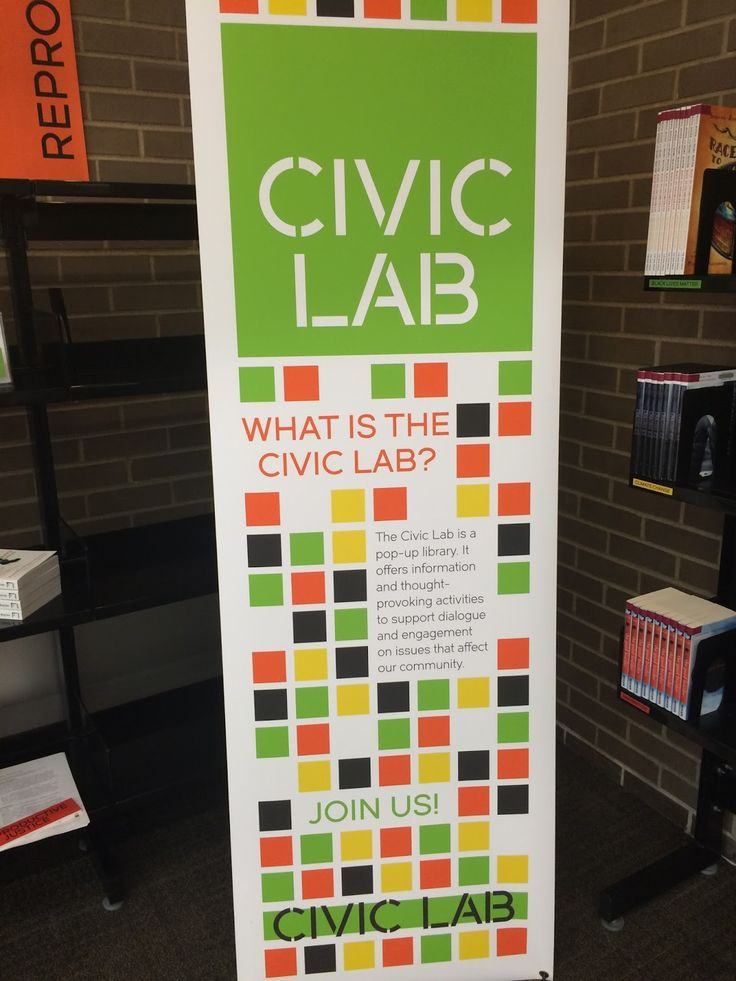 Civic engagement is on our minds at my library. Not just because this is an election year--although that certainly adds a layer to the conve...