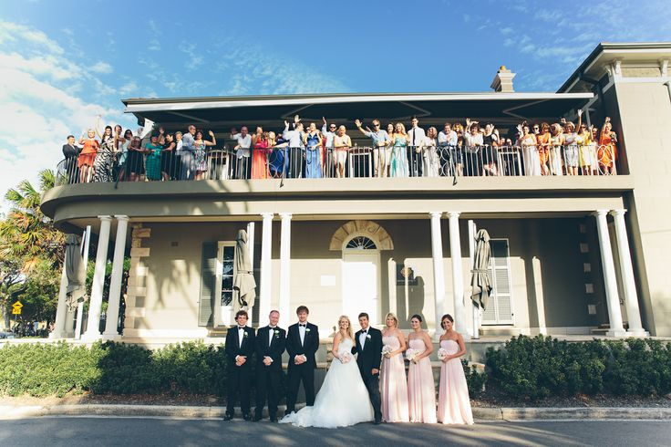 David Campbell Pictures   Dunbar House wedding venue in Watsons Bay