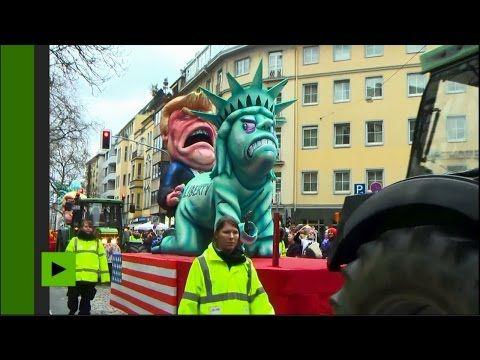 Le journal de BORIS VICTOR : L'édition 2017 du carnaval Rosenmontag très politi...