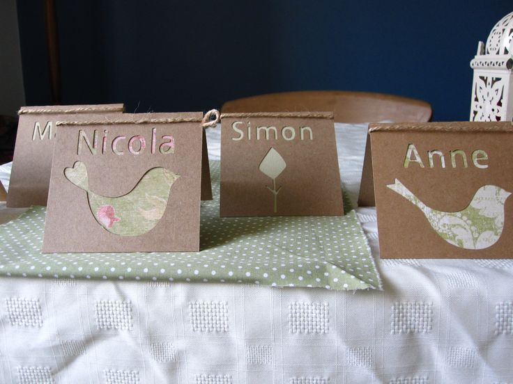 Rustic wedding place names
