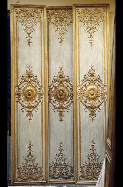 Vintage Wood Paneling: Baroque, Regance And Louis XIV