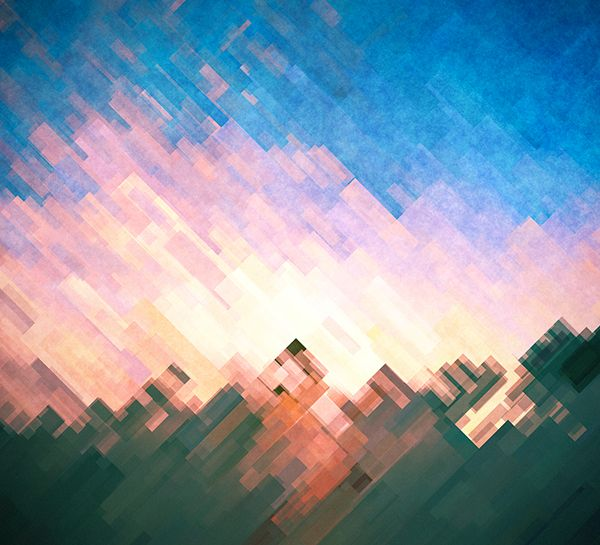 Porter Robinson - Worlds album release countdown on Behance