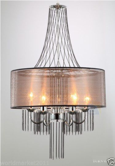 Modern Simplicity Cloth + Metal D 50cm Adjustable 5*Lamps Hanging Light