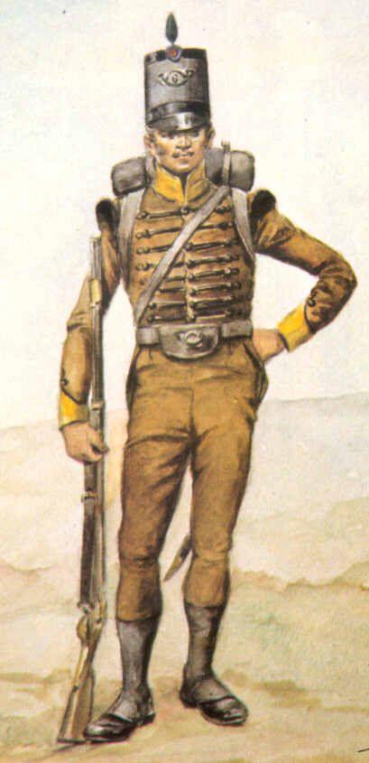 6th Cacadores 1811 - Portugese