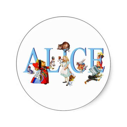 Mejores 23 imágenes de Alice In Wonderland Stickers en Pinterest ...