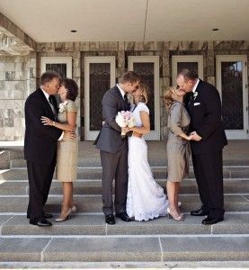 Love this idea parents of the groom and parents of the bride!