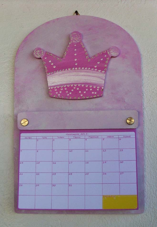 For all our little princesses, this adorable callendar...