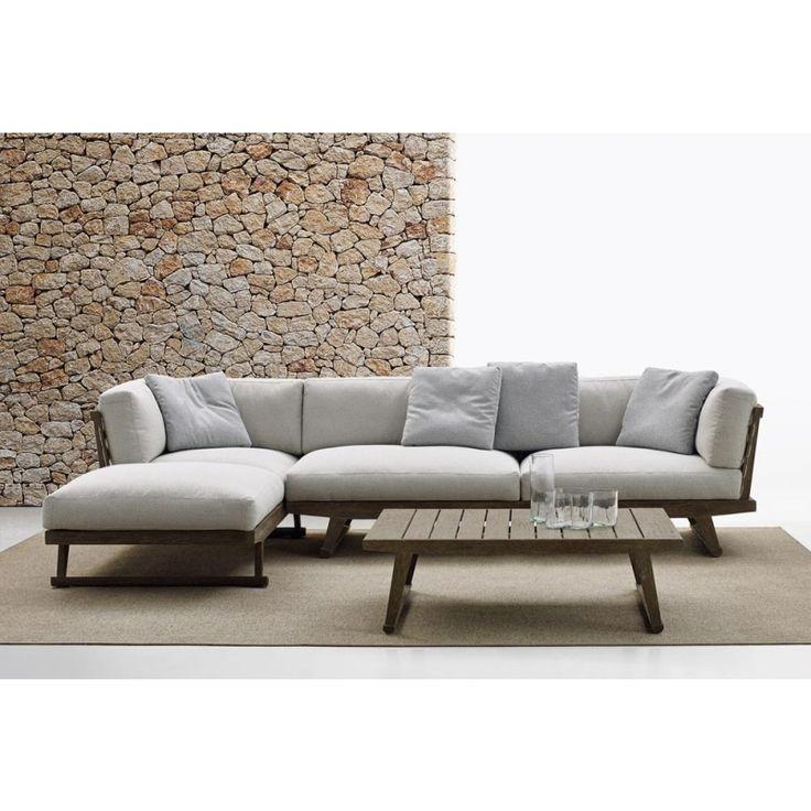 GIO Sofa With Chaise Longue Gio Collection By Bu0026B Italia Outdoor, A Brand  Of Bu0026B Italia Spa Design Antonio Citterio