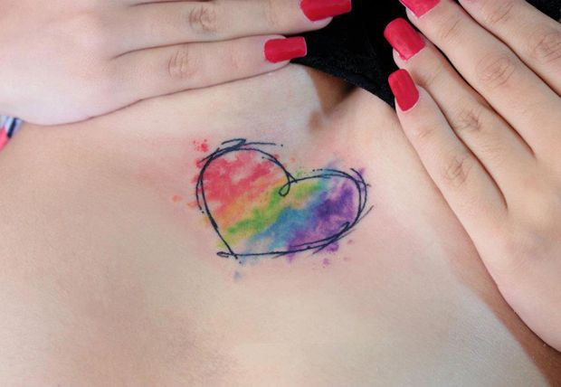 Watercolor tattoo - followthecolours candelaria Carballo 010 #tattoofriday   Candelaria Carballo