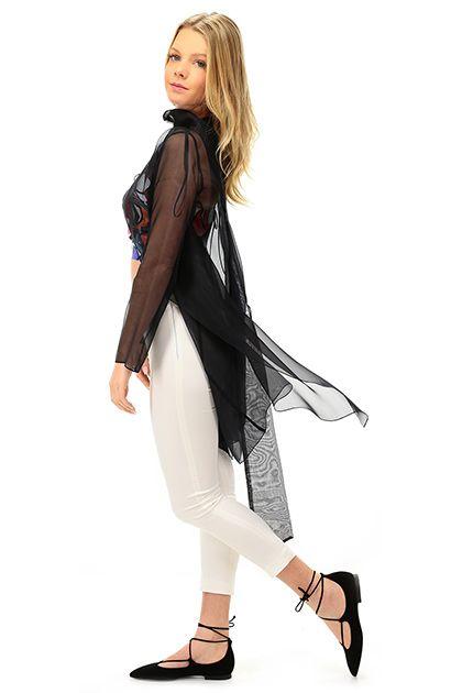 Hanita - Giacche - Abbigliamento - Giacca in seta con fascia inclusa. - NERO - € 185.00