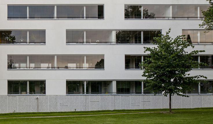 As Oy Jyväskylän Jalous ja Lumous, Finland 2013 (housing). Architect: Architects Lahdelma & Mahlamäki, prefabrication: Lipa-Betoni. Photo: Kuvatoimisto Kuvio Oy.