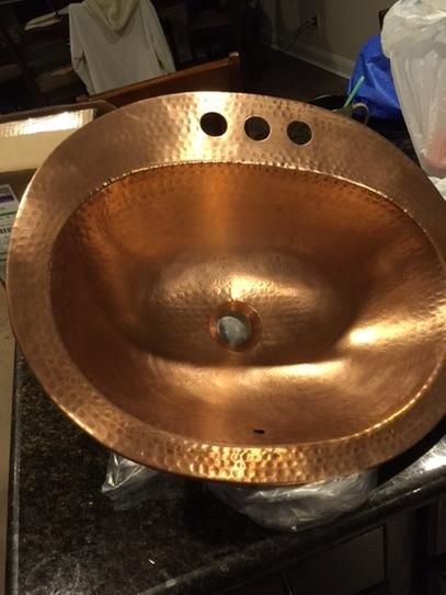 Com shopping great deals on premier copper products bathroom sinks - 17 Best Ideas About Copper Bathroom Sinks On Pinterest