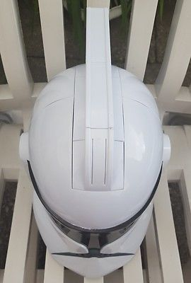 2008 Hasbro STAR WARS Clone Storm Trooper Voice Changer Talking Helmet