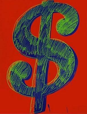 Andy wharol -Dollar