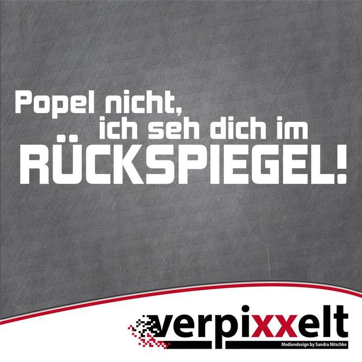 """Popel nicht..."" Aufkleber Sticker Decal JDM OEM in Auto & Motorrad: Teile, Auto-Tuning & -Styling, Karosserie & Exterieur Styling | eBay!"