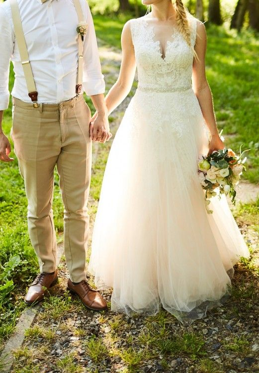 Wyjątkowa suknia ślubna boho
