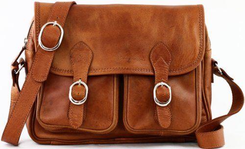 PAUL MARIUS sac bandoulière en cuir souple besace pour femme LE ROUEN - Le Sac en Cuir
