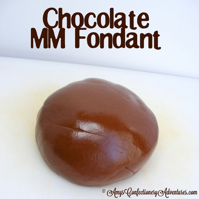 Amy's Confectionery Adventures: Chocolate Marshmallow Fondant
