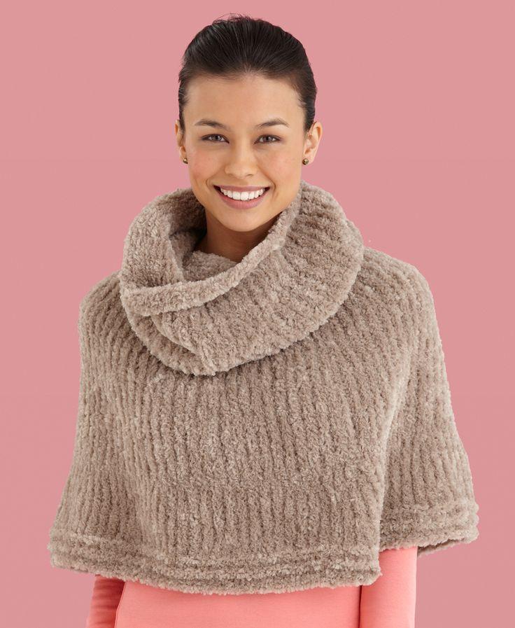 Loom Knitting Poncho : Free crochet poncho patterns for women pattern l