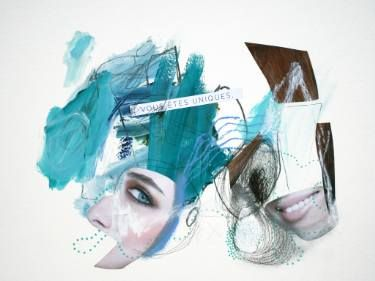 "Saatchi Art Artist Sander and Marijah; Collage, ""02.07.10.16 - II.XI.XVI.XVI"" #art"