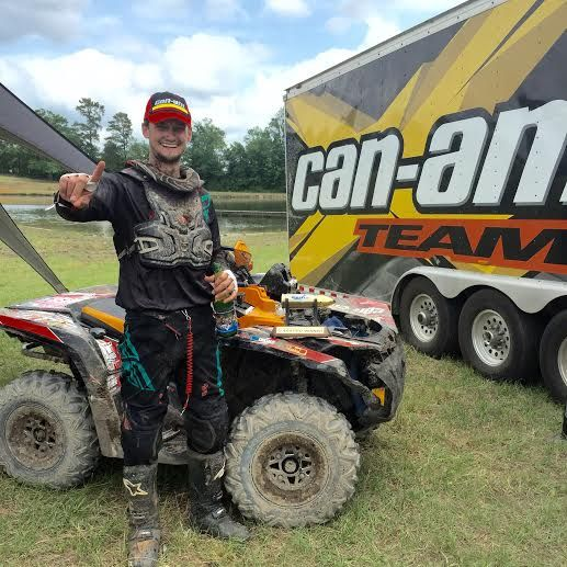 Can-Am Racer Cody Miller Earns Historic Double Victory at inaugural Camp Coker Bullet GNCC