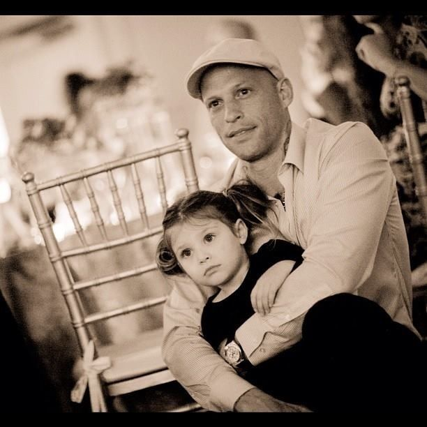 Ami James & daughter
