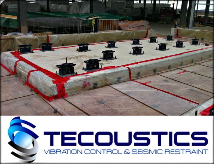 Tecoustics' full seismic design services includes anchorage analysis on any mechanical device instrumentation, sway bracing layouts and project management. #MasonIndustries #NoiseControl http://bit.ly/tecoustic