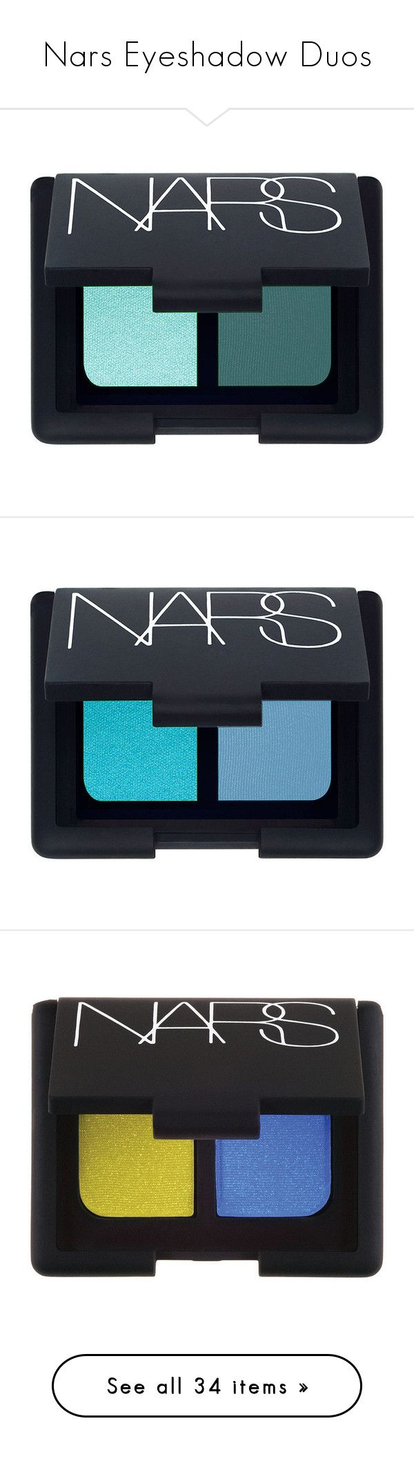 """""""Nars Eyeshadow Duos"""" by banoffz ❤ liked on Polyvore featuring beauty products, makeup, eye makeup, eyeshadow, beauty, fillers, eye shadow, nars cosmetics, long wear eyeshadow and eyes"""
