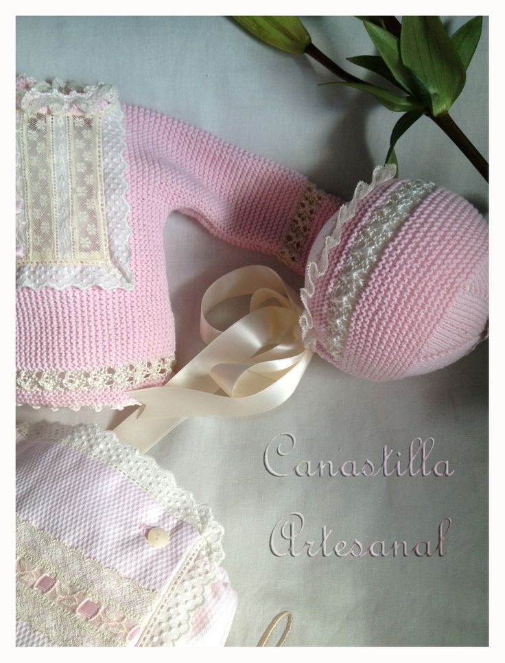 Canastilla artesanal catalogo de modelos punto ni os - Canastilla artesanal bebe ...
