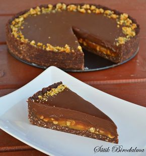 SÜTIK BIRODALMA: Nagyon csokis karamellás keksztorta / Chocolate caramel biscuit cake