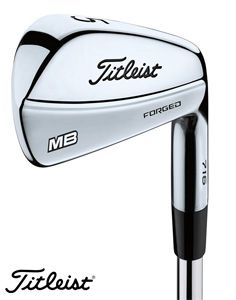 Série de 7 fers (4-PW) acier Titleist MB 716 D.Gold - Shaft Dynamic Gold AMT - regular/stiff