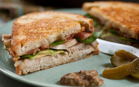 Roast Turkey, Avocado and Bacon Sandwich Recipe by Tyler Florence